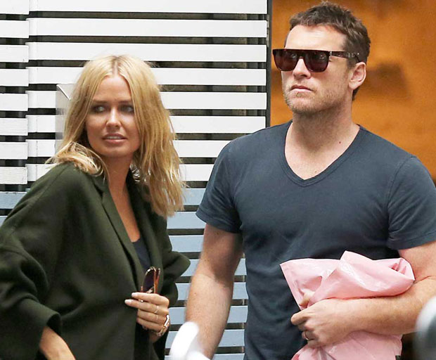 Lara Bingle, Sam Worthington, Hollywood, New York, paparazzi
