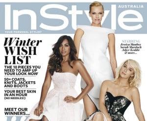 Jessica Mauboy, Sarah Murdoch, Asher Keddie, Instyle, Audi, awards, Women Of Style Awards