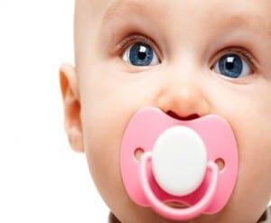 raising children, parenting, baby, toddler, pacifier