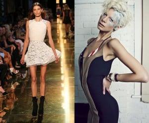 models, fashion, Kate Peck, Cassi Van Dugen