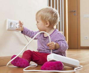 Baby safety, baby proofing, toddler safety around the home
