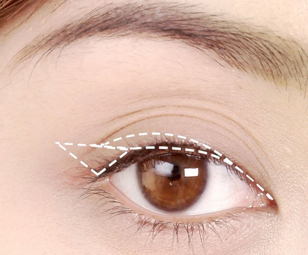 liquid eyeliner, makeup look, winged liner, cat eye, how-to