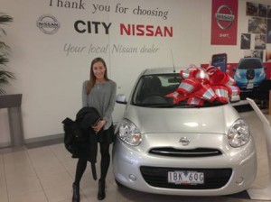 competitions, winner, win a car, Nissan Micra, competition winner