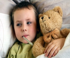 fever, cold and flu, raising children, natural remedies