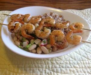 prawns, healthy dinner, healthy dinner recipes, grilled prawns, prawn skewers, healthy dinner ideas