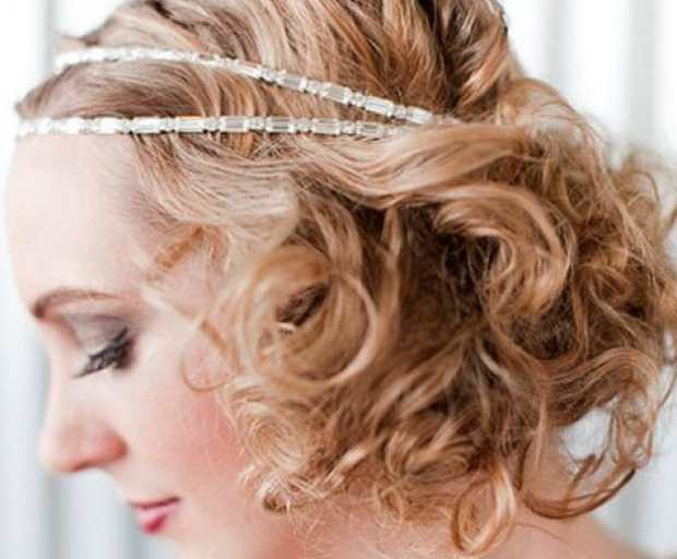 1920 S Inspired Wedding Hairstyles