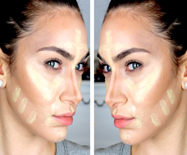 beauty tips, concealer, makeup tips, contouring, highlighting