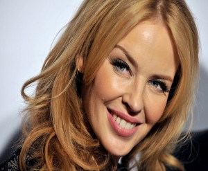 celebrity hairstyles, kylie minogue hairstyle, medium length hairstyles