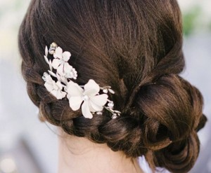hairstyles, wedding hairstyles, hairstyles for long hair, top-knot, loose curls