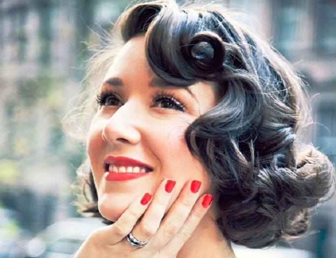 Vintage Hair Styles For Short Hair: Bridal Hairstyles For Short Hair