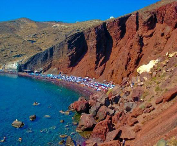 Santorini, Grecce, Greek Islands, Oia, Red Beach, Santo Winery, Travel, Holiday
