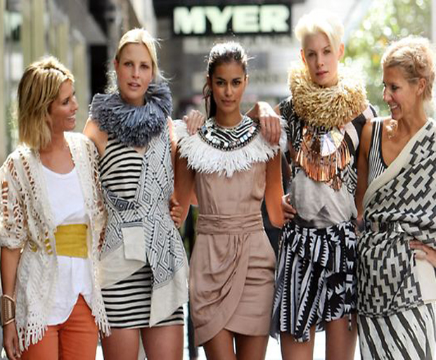 Sass and Bide, Myer, Sarah-Jane Clark, Heidi Middleton, Fashion, High-end label, luxury