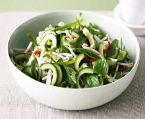 Two Light And Healthy Salad Ideas