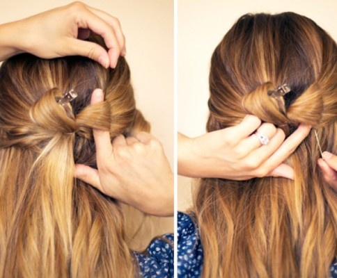 5 Minute Styles For Medium To Long Hair