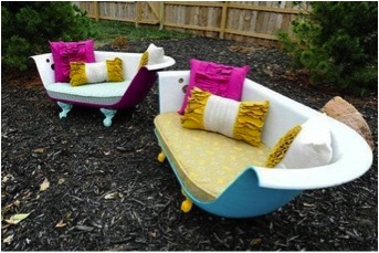25 Trendy Upcycled Patio Ideas