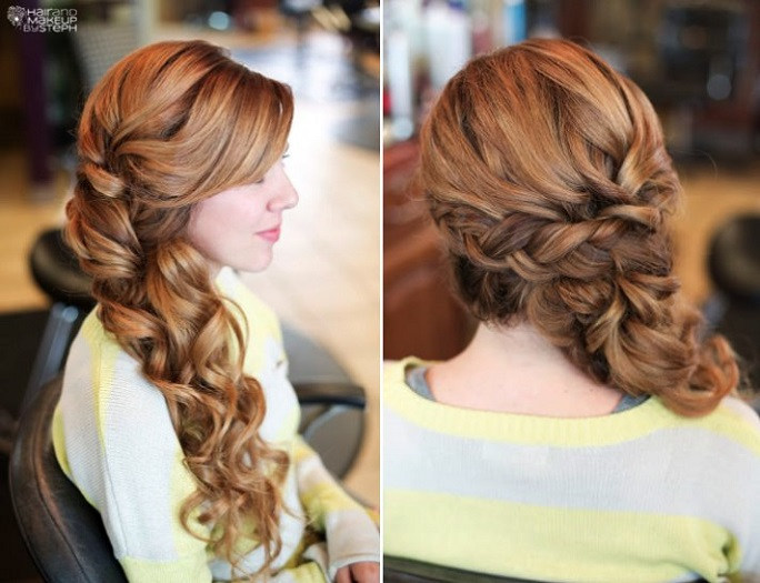 10 Beautiful Updo Hairstyles For Weddings 2019: Braided Bridal Hairstyles