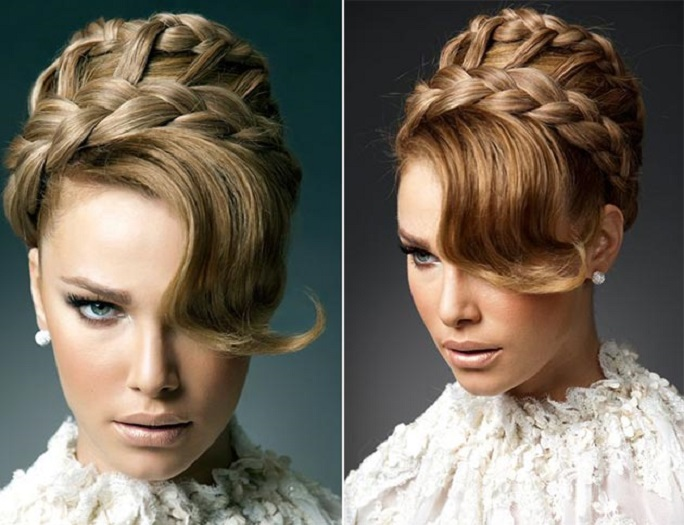 Braided Bridal Hairstyles - SHE'SAID'