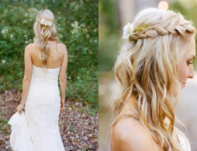 Braided Bridal Hairstyles - SHEu0026#39;SAIDu0026#39;