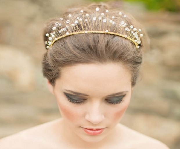 Stunning Hairstyles With Tiaras For Brides She Said