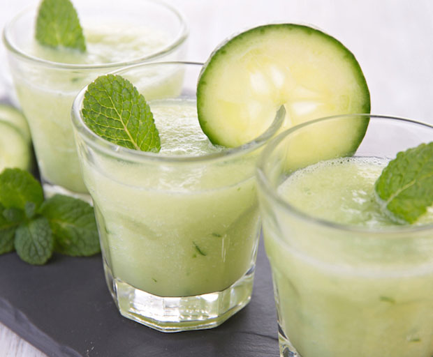 TGIF Cocktail Recipe: Cucumber And Mint Margaritas, Tequila Blu, tequila