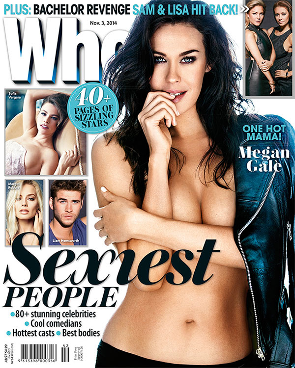 Megan Gale, WHO magazine