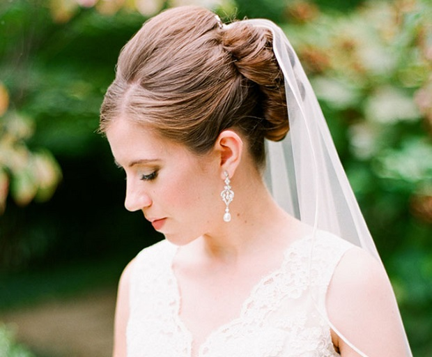 Bridal Hairstyles With Long Veils - SHE\'SAID\'