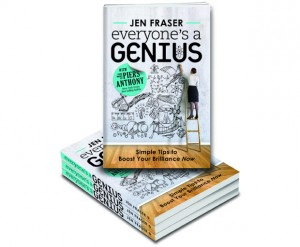 bright ideas, genius, debut author