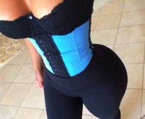 Kim Kardashian, waist training, corsets