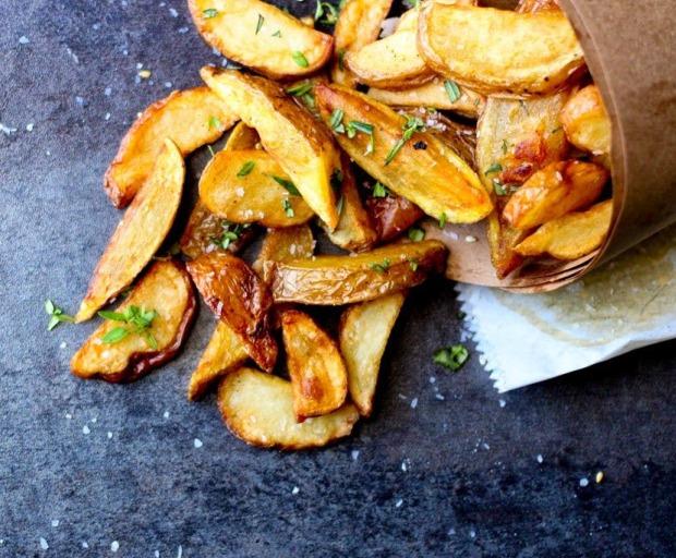 Healthy Herbed Bistro Fries