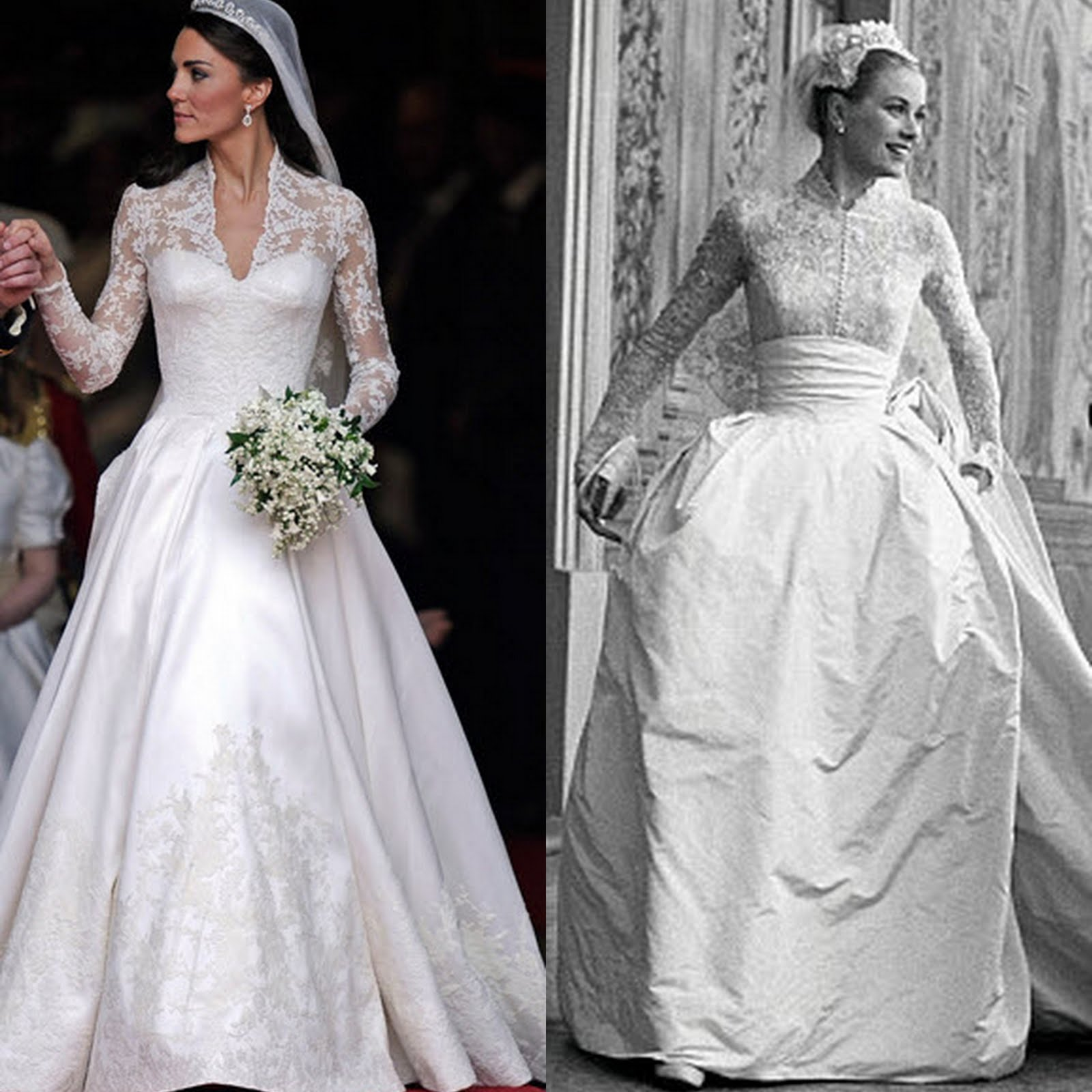 Winter wedding dress ideas she 39 said 39 for Princess grace wedding dress