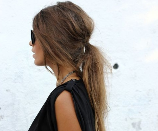 Ponytail Ideas For Long Hair