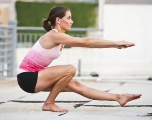 how to, pistol squat, one legged squat
