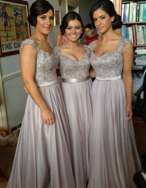 e6355460c1 Flattering Dresses For All Bridesmaids