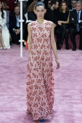 Dior dress fashion pink haute couture