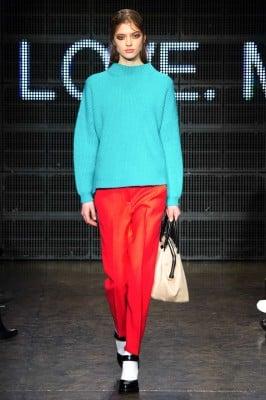 DKNY fashion show