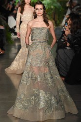 Elie Saab haute couture fashion dress
