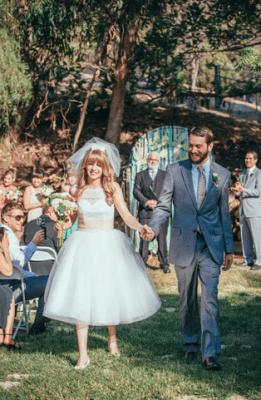60's Inspired Wedding Dresses