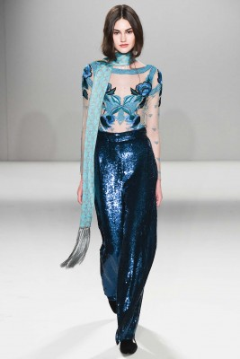 Temperately London fashion show