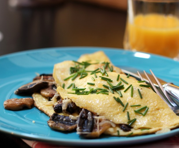 Wild Omelette Recipe