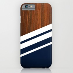 iphone 6, wood, navy, case