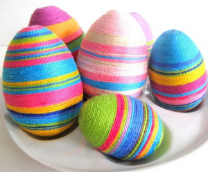 Easter, DIY, Craft, Easter Eggs, Bunting