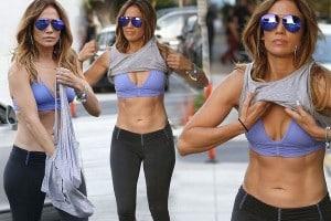 crop top, gym wear, workout