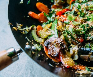 Stir-Fry, Vegetarian, Asian Food, Healthy Recipes, Miso