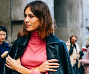 Alexa Chung's Voluminous Bob Tutorial