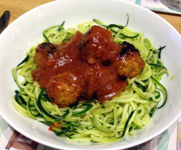 Healthy Courgette Spaghetti Recipe