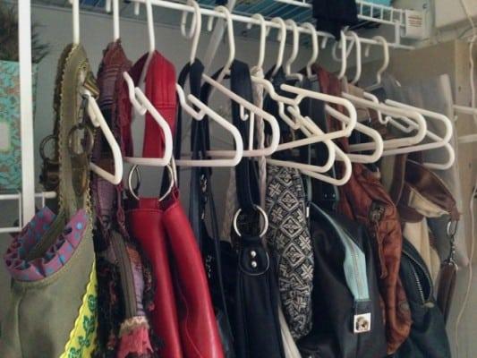 handbags storage hangers