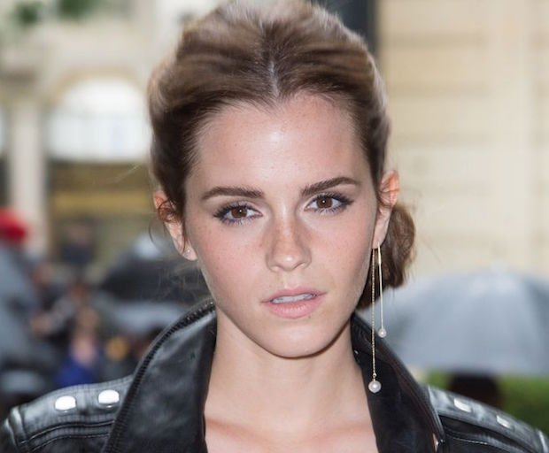 emma watson single earring
