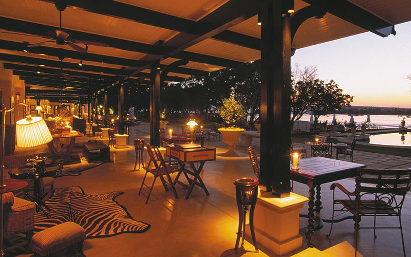 The Royal Livingstone Hotel, Zambia