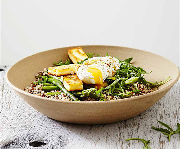 Savoury superfood bowl with poached egg recipe forumfinder Image collections