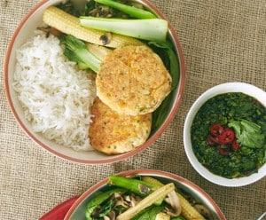 Thai fish cakes, stir-fry, Asian recipes, My Food Bag, Zoe Bingley-Pullin, Healthy Recipes